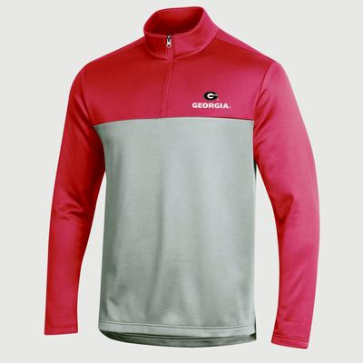 Georgia Champion Men's Field Day Poly 1/4 Zip