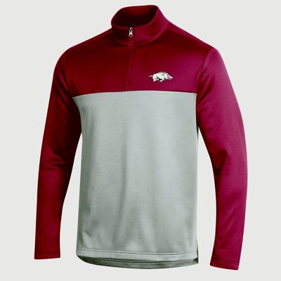 Arkansas Champion Men's Field Day Poly 1/4 Zip