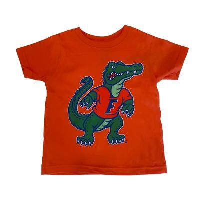 Florida Orange Gator Mascot Tee