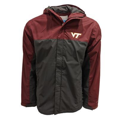 Virginia Tech Columbia Big & Tall Glennaker Storm Jacket