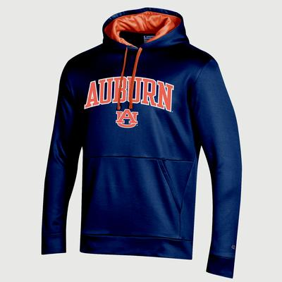 Auburn Champion Men's Field Day Poly Fleece Pullover