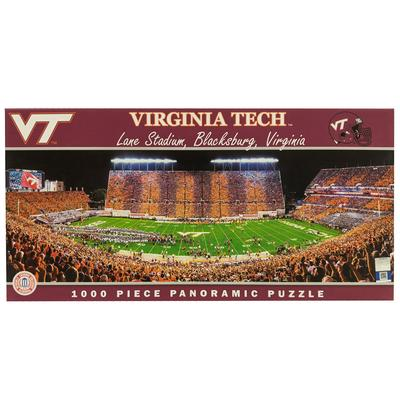 Virginia Tech Lane Stadium Panoramic Puzzle