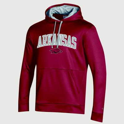 Arkansas Champion Men's Field Day Poly Fleece Pullover