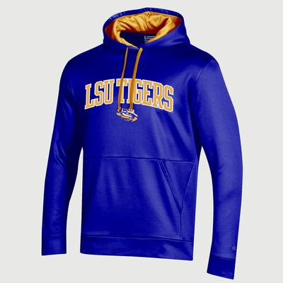 LSU Champion Men's Field Day Poly Fleece Pullover