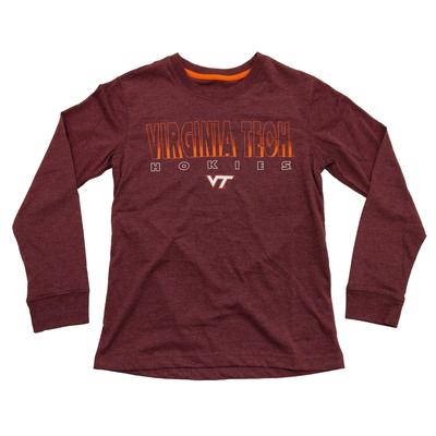 Virginia Tech Youth Zort L/S T-Shirt