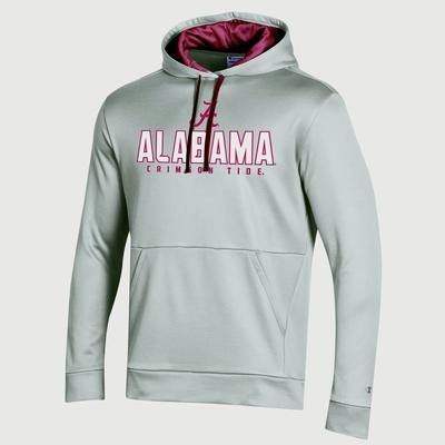 Alabama Champion Men's Field Day Heather Poly Fleece Pullover
