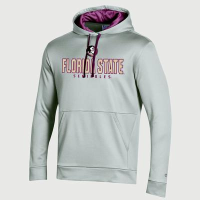 Florida State Champion Men's Field Day Heather Poly Fleece Pullover