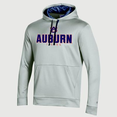 Auburn Champion Men's Field Day Heather Poly Fleece Pullover