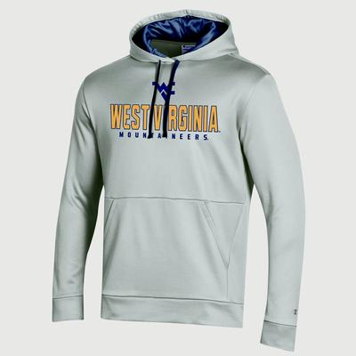 West Virginia Champion Men's Field Day Heather Poly Fleece Pullover