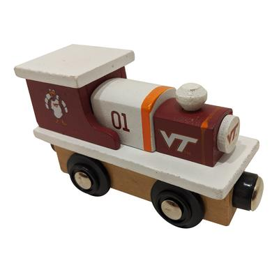 Virginia Tech Wooden Toy Train