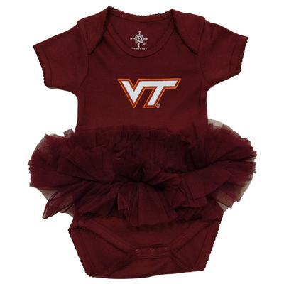 Virginia Tech Tutu Onesie