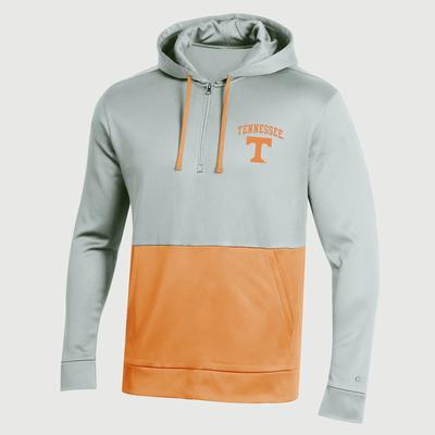 Tennessee Champion Men's Field Day Poly Fleece 1/4 Zip Hoody