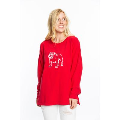 Georgia Stewart Simmons Bulldog Oversized Top