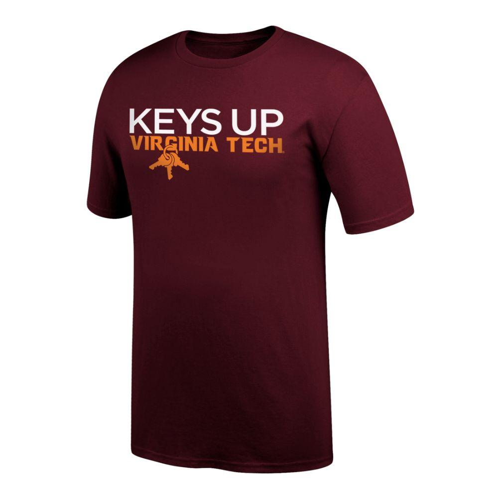 Virginia Tech Keys Up T- Shirt