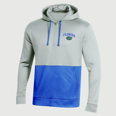 Florida Champion Men's Field Day Poly Fleece 1/4 Zip Hoody