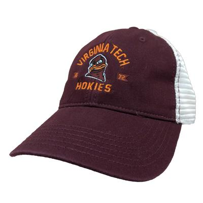 Virginia Tech Arch W/ Hokiebird Mesh Trucker Hat