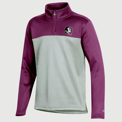 FSU Champion Youth Promo Poly Fleece 1/4 Zip