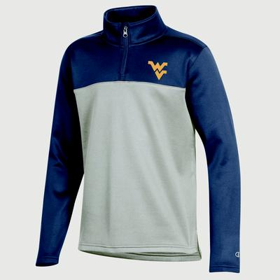 West Virginia Champion Youth Promo Poly Fleece 1/4 Zip