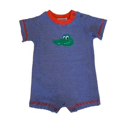 Florida Infant Boys Alligator Romper