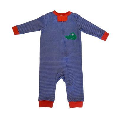 Florida Ishtex Infant Striped Zip PJ's
