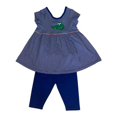 Florida Ishtex Girl Gator Capri Set