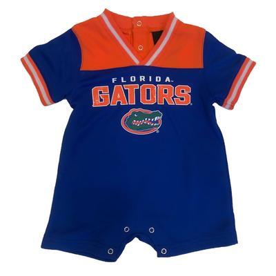 Florida Infant Mesh Short Sleeve Romper