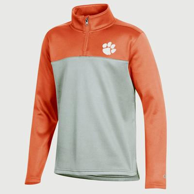 Clemson Champion Youth Promo Poly Fleece 1/4 Zip