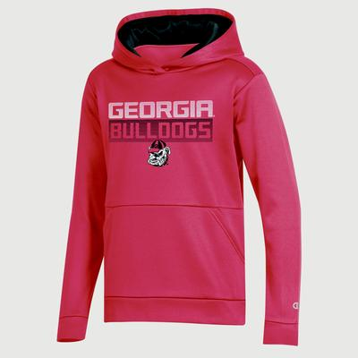Georgia Champion Youth Promo Poly Fleece Hood