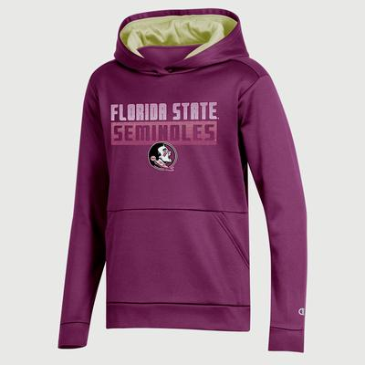 FSU Champion Youth Promo Poly Fleece Hood