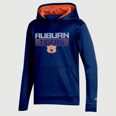 Auburn Champion Youth Promo Poly Fleece Hood