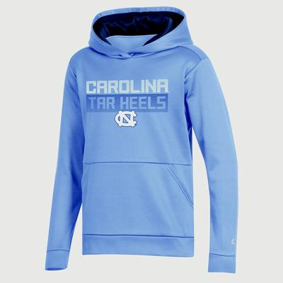 UNC Champion Youth Promo Poly Fleece Hood