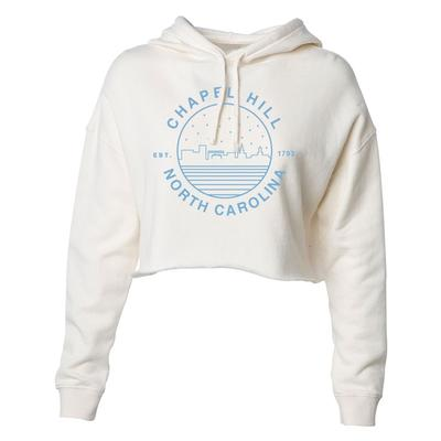 Chapel Hill Uscape Women's Starry Night Crop Hoodie