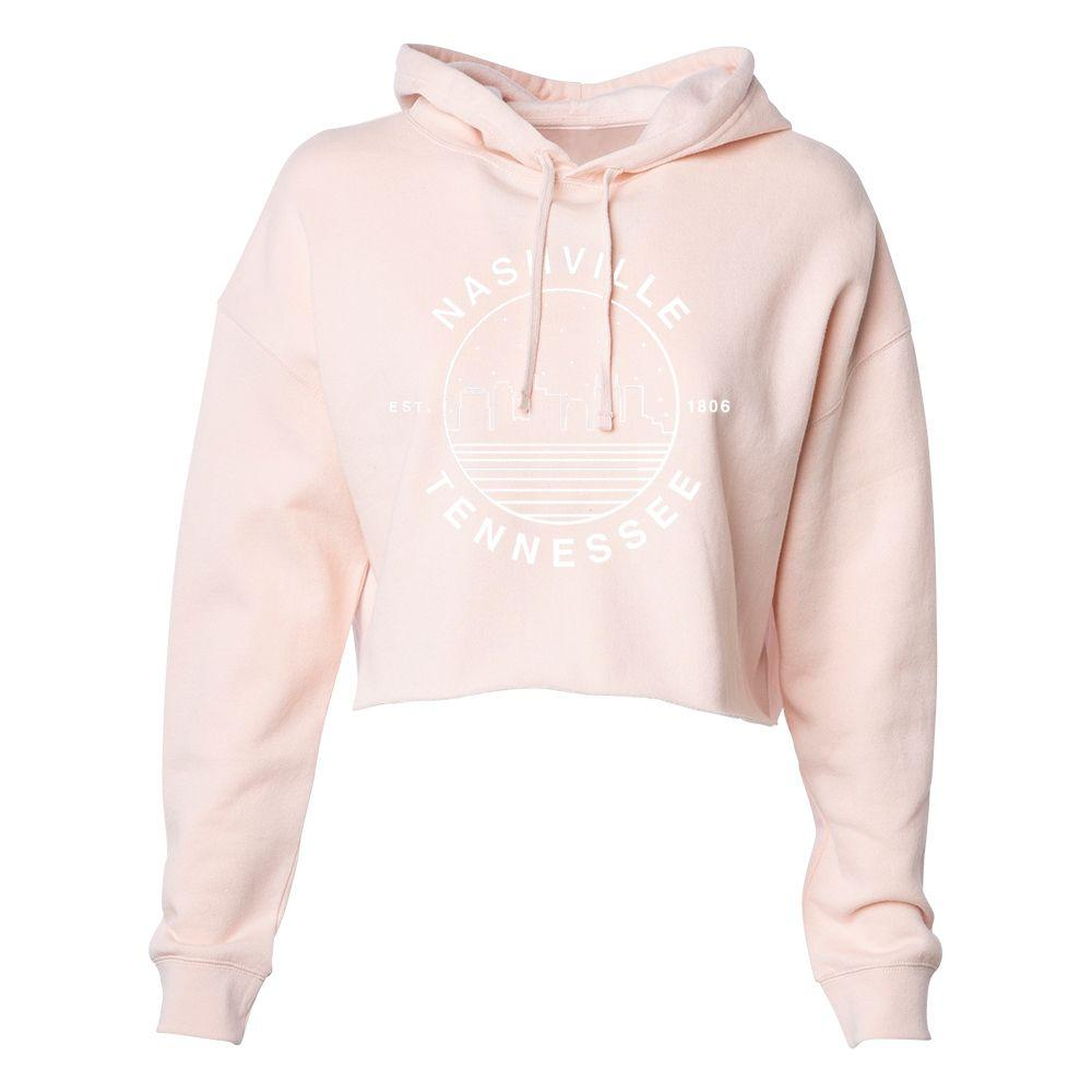 Nashville Uscape Women's Starry Night Crop Hoodie