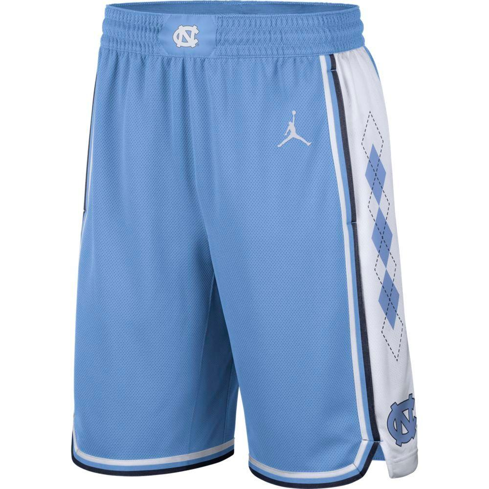 Unc Jordan Brand Limited Road Basketball Shorts