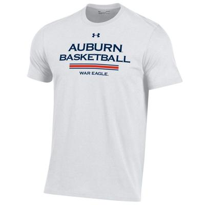 Auburn Under Armour Men's Basketball Performance Cotton Tee