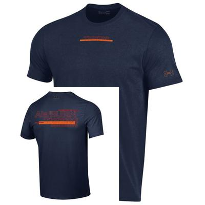 Auburn Under Armour Men's Hype Team Name Bar Tee