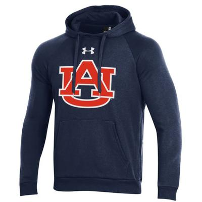 Auburn Under Armour Men's All Day Fleece Hood