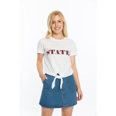 Florida State Stewart Simmons State Tie Front Tee