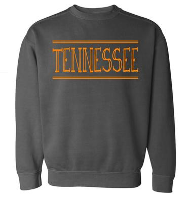 Tennessee Summit Women's Hand Drawn Double Bar CC Crew Sweatshirt