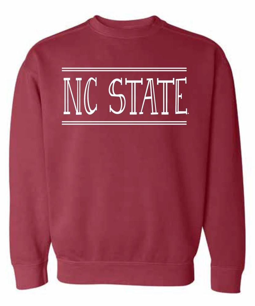 Ncst Summit Women's Hand Drawn Double Bar Cc Crew Sweatshirt