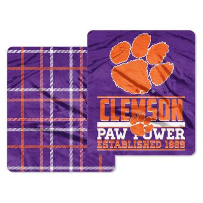 Clemson Northwest Cloud Throw