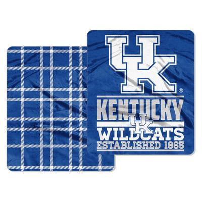Kentucky Northwest Cloud Throw