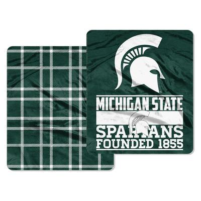 Michigan State Northwest Cloud Throw