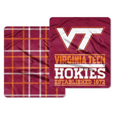 Virginia Tech Northwest Cloud Throw
