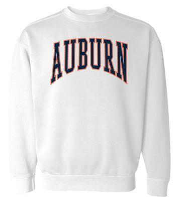 Auburn Summit Women's 90's Arch CC Crew Sweatshirt