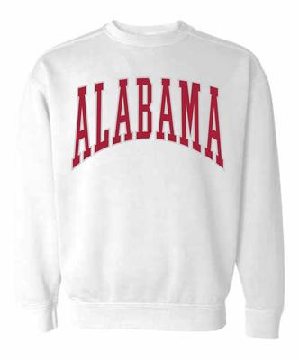 Alabama Summit Women's 90's Arch CC Crew Sweatshirt