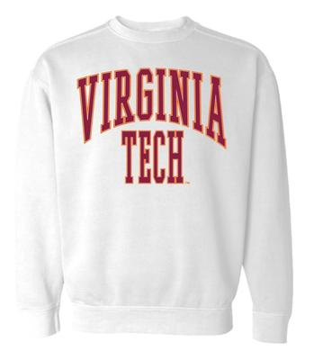 Virginia Tech Summit Women's 90's Arch CC Crew Sweatshirt