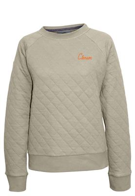 Clemson Summit Women's Quilted Crew