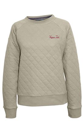 Virginia Tech Summit Women's Quilted Crew