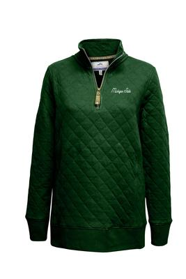 Michigan State Summit Women's Quilted 1/4 Zip